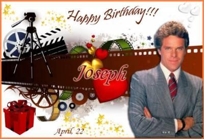 С днем рождения джозеф